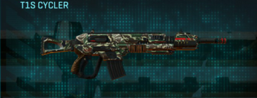 Scrub forest assault rifle t1s cycler