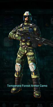 Nc temperate forest combat medic