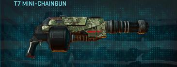 Pine forest heavy gun t7 mini-chaingun