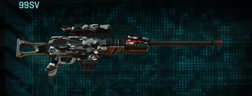 Indar dry brush sniper rifle 99sv