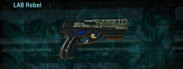 Amerish brush pistol la8 rebel