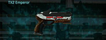 Forest greyscale pistol tx2 emperor