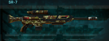 India scrub sniper rifle sr-7