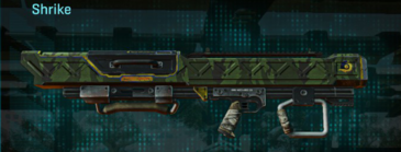 Amerish leaf rocket launcher shrike