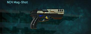 California scrub pistol nc4 mag-shot