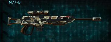 Desert scrub v1 sniper rifle m77-b