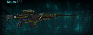 Amerish forest v2 sniper rifle gauss spr