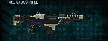 Indar dry ocean assault rifle nc1 gauss rifle