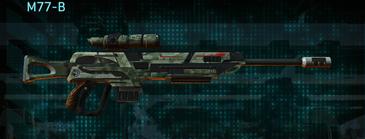 Amerish brush sniper rifle m77-b