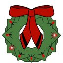 Wreath Decal TR