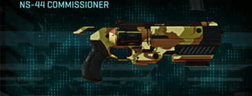 India scrub pistol ns-44 commissioner
