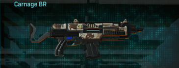 Desert scrub v2 assault rifle carnage br