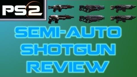 Planetside 2 - Semi-Automatic Shotguns Review - Mr