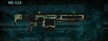 Amerish brush assault rifle ns-11a