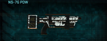 Forest greyscale smg ns-7g pdw