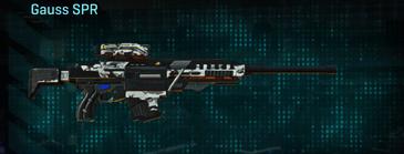 Forest greyscale sniper rifle gauss spr