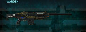 Indar highlands v2 battle rifle warden