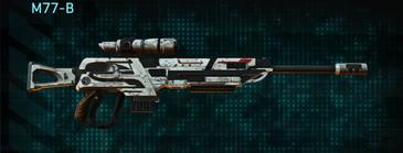 Rocky tundra sniper rifle m77-b