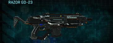 Indar dry brush carbine razor gd-23