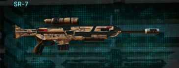 Indar canyons v1 sniper rifle sr-7
