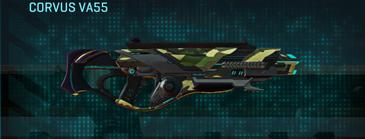 Temperate forest assault rifle corvus va55
