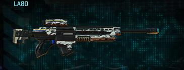 Forest greyscale sniper rifle la80