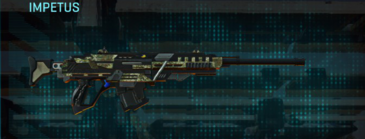 Pine forest sniper rifle impetus