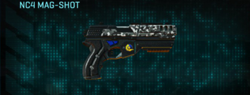 Snow aspen forest pistol nc4 mag-shot