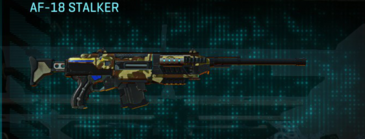 India scrub scout rifle af-18 stalker