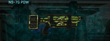 Jungle forest smg ns-7g pdw