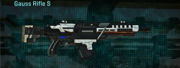 Esamir snow assault rifle gauss rifle s