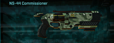 Amerish brush pistol ns-44 commissioner