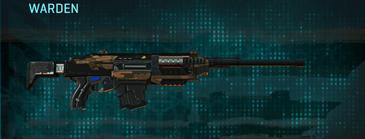 Indar rock battle rifle warden