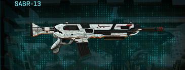 Esamir snow assault rifle sabr-13