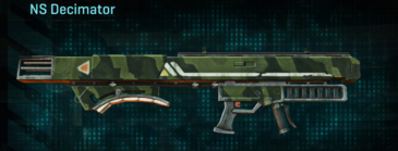 Amerish forest rocket launcher ns decimator