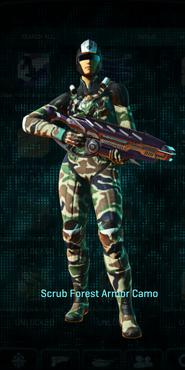 Vs scrub forest combat medic