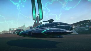 Magrider PlanetSide Decal