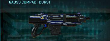Nc zebra carbine gauss compact burst