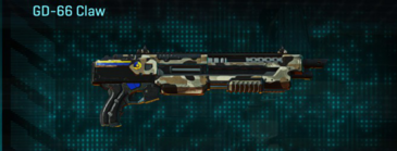Desert scrub v1 shotgun gd-66 claw