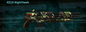 African forest shotgun as16 nighthawk