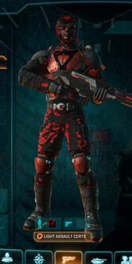 Tr loyal soldier camo light assault