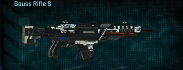 Forest greyscale assault rifle gauss rifle s