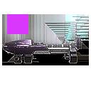 Icon weaponAttachment vs redDotSight02 triangleFramed002