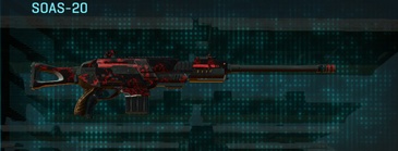 Tr loyal soldier scout rifle soas-20