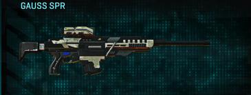 Indar dry ocean sniper rifle gauss spr