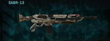 Desert scrub v2 assault rifle sabr-13