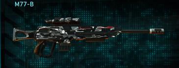 Indar dry brush sniper rifle m77-b