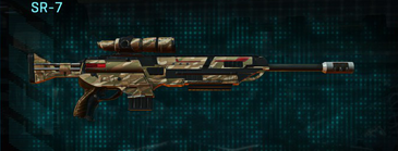 Indar dunes sniper rifle sr-7