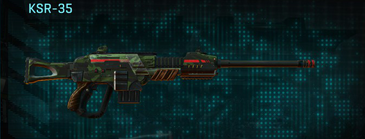 Amerish leaf sniper rifle ksr-35