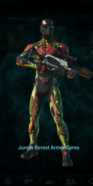 Tr jungle forest infiltrator